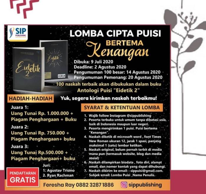 Cipta Puisi SIP Publishing