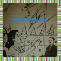मैडम कामा का काल्पनिक चित्र