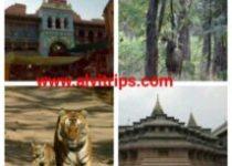 अमरावती पर्यटन स्थलों के सुंदर दृश्य