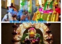 मंडला पूजा के सुंदर दृश्य