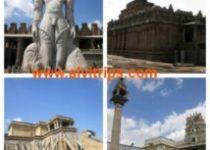 श्रवणबेलगोला के दर्शनीय स्थलों के सुंदर दृश्य