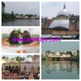 तारकेश्वर मंदिर के सुंदर दृश्य