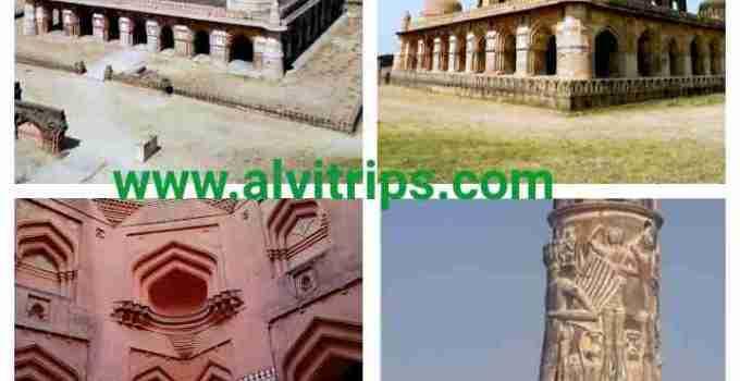 कालपी का किला व चौरासी खंभा