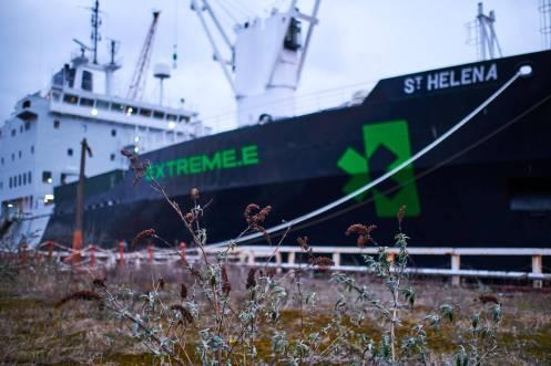 St Helena barco