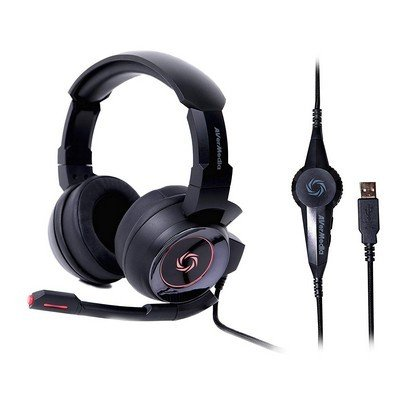 AVerMedia SonicWave USB 7.1 Gaming Headset GH337..