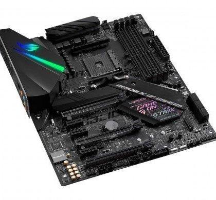 ASUS ROG Strix X470 F Gaming AM4 AMD X470 SATA 6Gbs USB 3.1 HDMI ATX AMD Motherboard 90MB0XH0 M0EAY0.