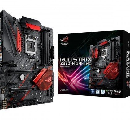 ASUS ROG Strix Z370 H Gaming LGA 1151 300 Series Intel Z370 HDMI SATA 6Gbs USB 3.1 ATX Intel Motherboard 90MB0VJ0 M0EAY0.
