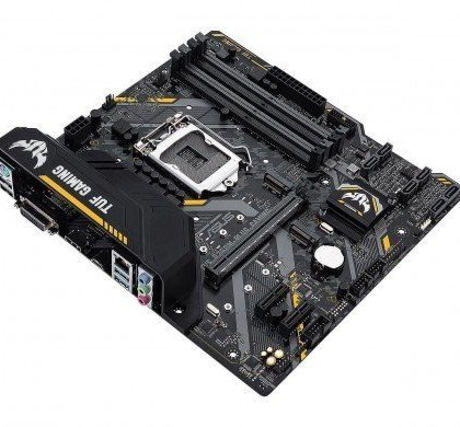Asus TUF B360M PLUS Gaming B360 LGA 1151 DDR4 Micro ATX Intel Motherboard 90MB0WN0 M0EAY0.