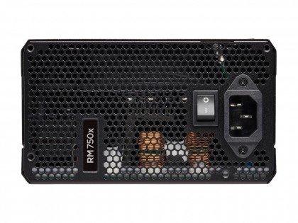 CORSAIR RMx Series RM750x 750 Watt Fully Modular 80 Gold Certified CP 9020179 UK