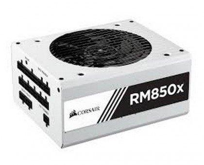 CORSAIR RMx Series RM850x 850 Watt Fully Modular Power Supply 80 Gold Certified White CP 9020156 UK
