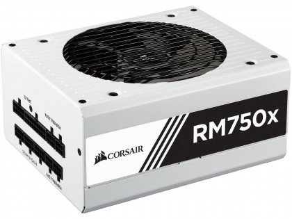 Corsair RMX Series RM750x ATX EPS Fully Modular 80 PLUS Gold Power Supply Unit White CP 9020155 UK