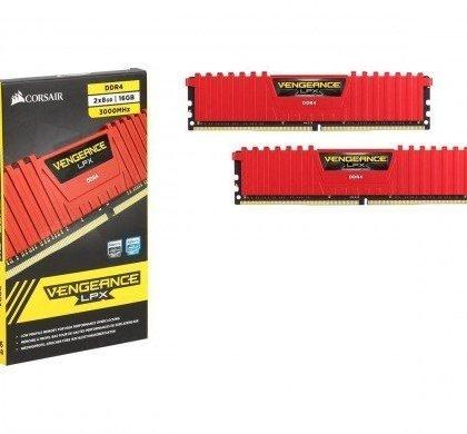 Corsair Vengeance LPX 16GB 2x8GB 288 Pin DDR4 SDRAM DDR4 3000 PC4 24000 Desktop Memory CMK16GX4M2B3000C15R