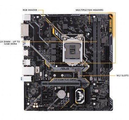 Designed exclusively for 8th generation Intel Core processors to maximize connectivity and speed with M.2 Gigabit LAN.