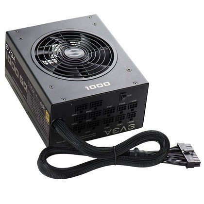 EVGA 1000 GQ 80 GOLD 1000W Semi Modular EVGA ECO Mode Power Supply