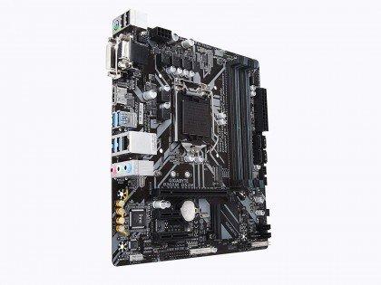 GIGABYTE B360M DS3H LGA 1151 300 Series Intel B360 HDMI SATA 6Gbs USB 3.1 Micro ATX Intel Motherboard...