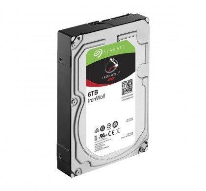 Seagate 6TB IronWolf NAS SATA 6GbS NCQ 128MB Cache 3.5 Inch Hard Drive ST6000VN0041
