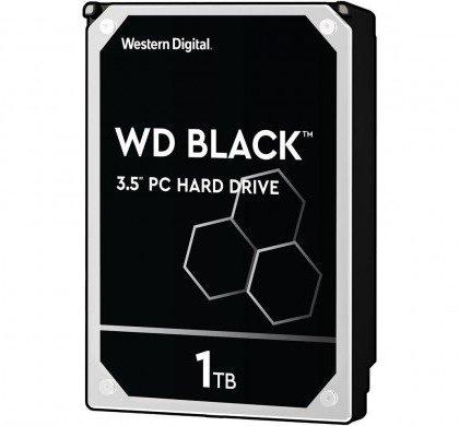 WD Black 1TB Performance Desktop Hard Disk Drive 7200 RPM SATA 6 GbS 64MB Cache 3.5 Inch WD1003FZEX