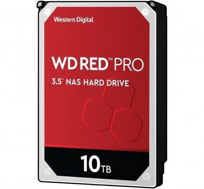 Western Digital WD Red Pro WD101KFBX 10TB NAS 7.2K RPM SATA 6 GbS 256MB 3.522 HDD WD101KFBX
