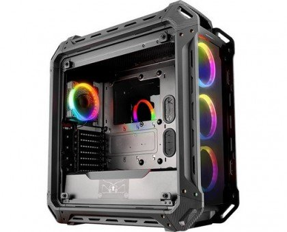 Cougar Panzer EVO RGB Tempered Glass RGB LED ATX Full Tower Computer Case Black CG GC PANZEREVO RGB