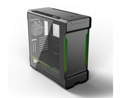 Phanteks Evolv X Satin Black Aluminum ATX Mid Tower Computer PH ES518XTG DBK01