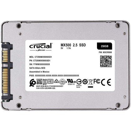 Crucial MX500 250 GB 3D NAND SATA 2.5 Inch Internal SSD CT250MX500SSD 3