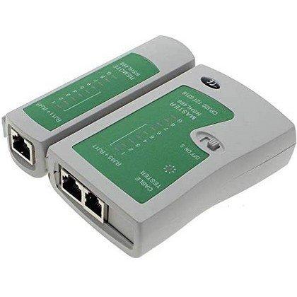 RJ45 CAT5e CAT6e RJ11 RJ12 Ethernet Network LAN Wire Cable Tester Testing Tool 2