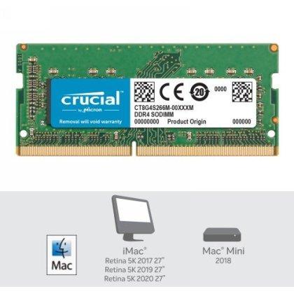 Crucial DDR4 8GB 2666 Sodimm