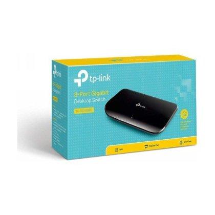 TP Link 8 Port Gigabit Switch TL SG1008D 2