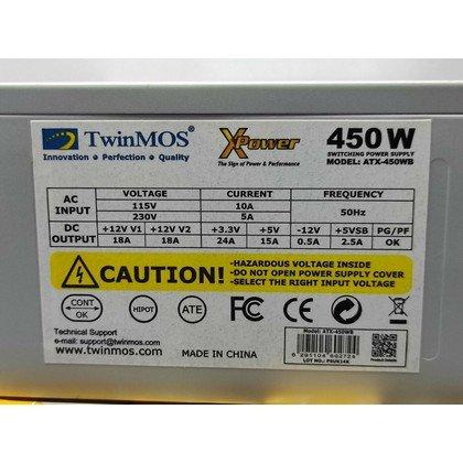 twinmos 450watts PSU 2