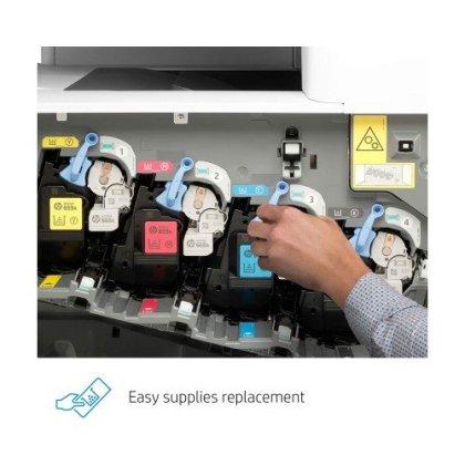 HP Color LaserJet Enterprise Multifunction M776dn All in One Duplex Printer with JetIntelligence 5