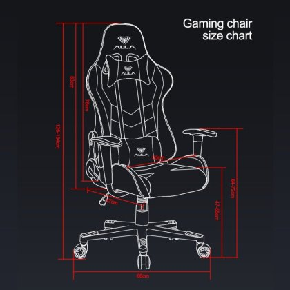 Aula Gaming chair red camouflag 6