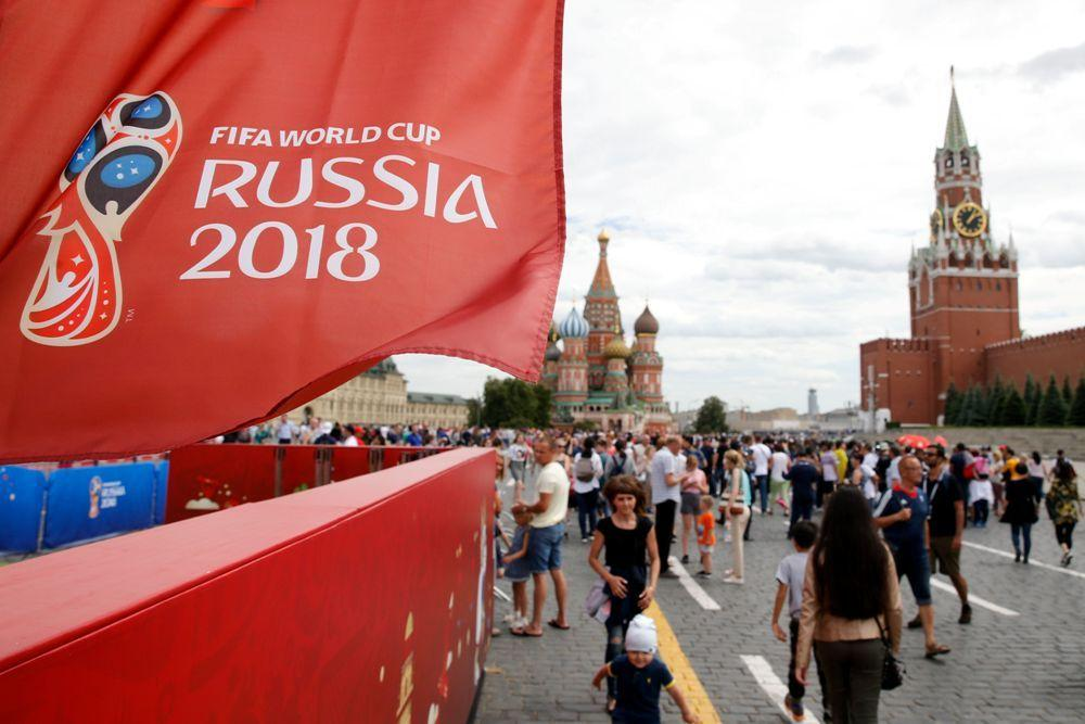 الساحة الحمراء في موسكو تخطف الأضواء من مناطق المشجعين صحيفة الوطن