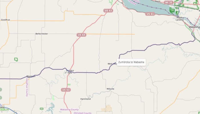 Road Review: Zumbrota To Wabasha