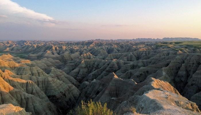 National Parks #1 And #2: Badlands And Wind Cave National Park