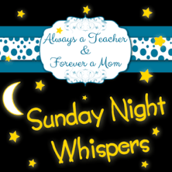 Sunday Night Whispers Linky Party