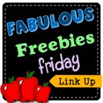 Fabulous Freebies Friday Link Up – October 3