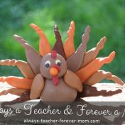 Catia Dias - Clay Turkey Craft Tutorial