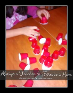 Word Tower - Sight Word Activity
