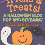 Tricks & Treats: A Halloween Blog Hop and Giveaway!