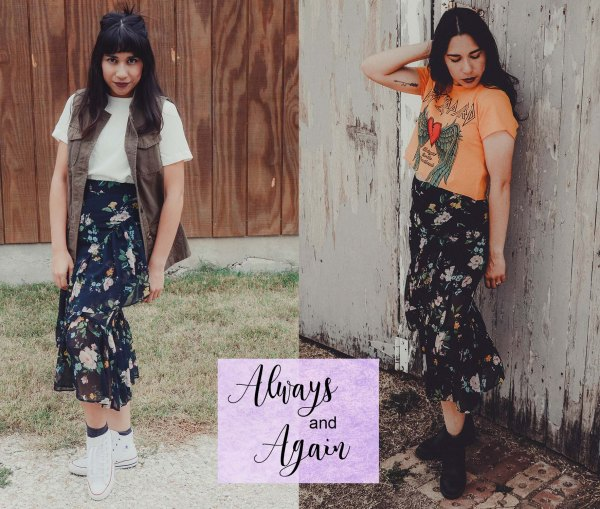Always and Again: Bershka Skirt