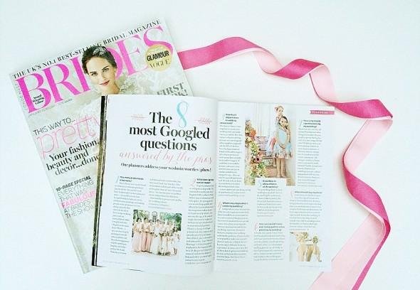 BRIDES Magazine press wedding planning tips