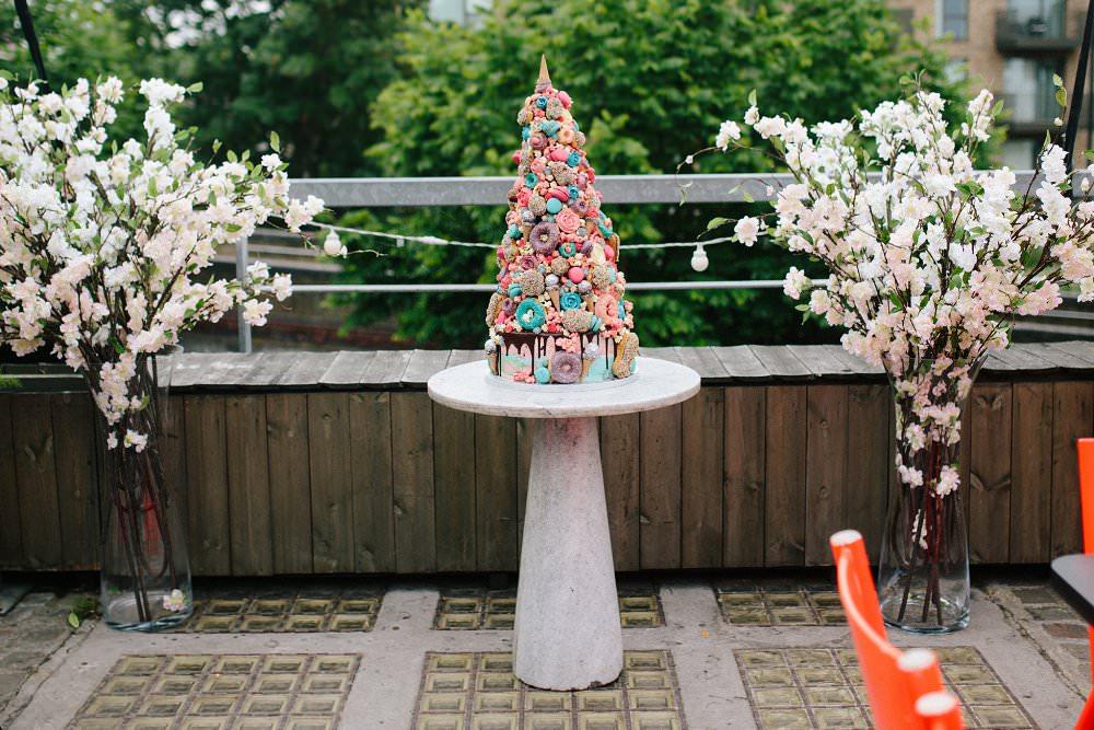 Anges de Sucre Unicron crocenbouche wedding cake