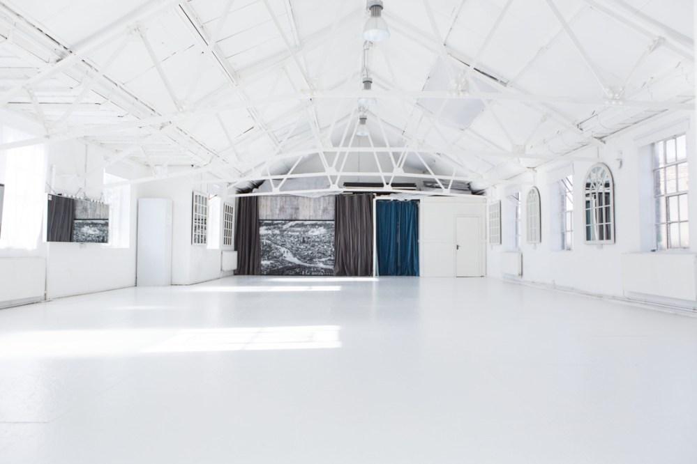 Lumiere London White loft Blank canvas wedding venue