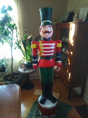 Painted Nutcracker