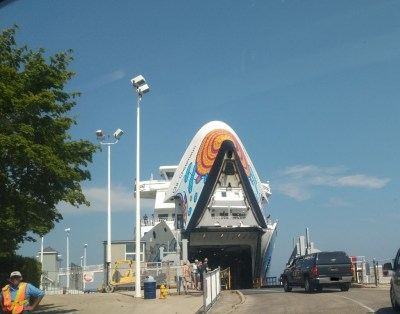Chi-Cheemaun Ferry to Manitoulin Island