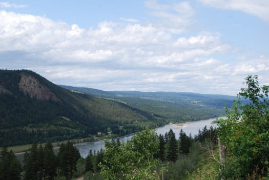 View of the Fraser River, British Columbia