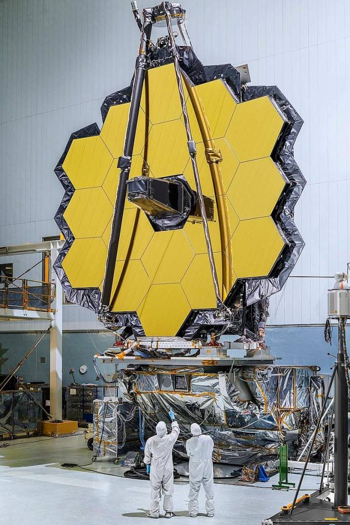 Mirror Assembly of the James Webb Space Telescope