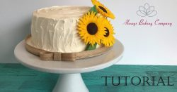 Sunflower Cake FB