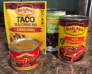 Taco Tater Tot Casserole Ingredients