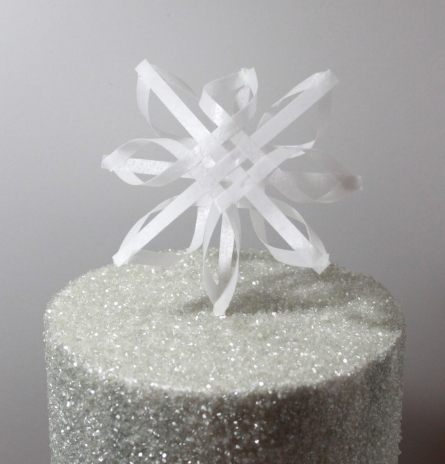 Wafer Paper Snowflake